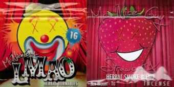 LMAO And Mr Nice Guy Strawberry Synthetic Pot