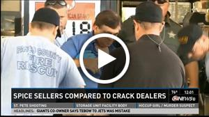 Spice Sellers Compared To Crack Dealers