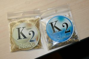 k2 blonde and k2 standard packets