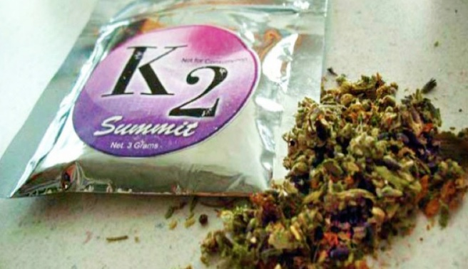 k2 packet next to spice