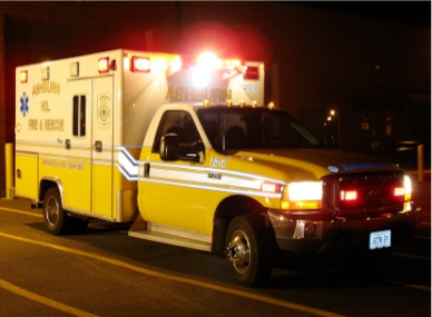 ambulance at night spice synthetic marijuana