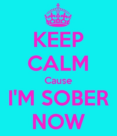 keep calm im sober now synthetic pot