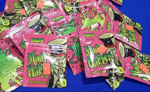 mad hatter herbal incense synthetic marijuana spice