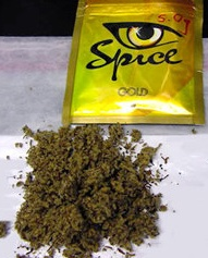 spice gold open packet