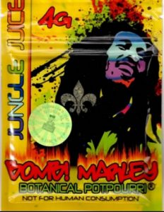 Bomb Marley Jungle Juice potpourri spice synthetic marijuana